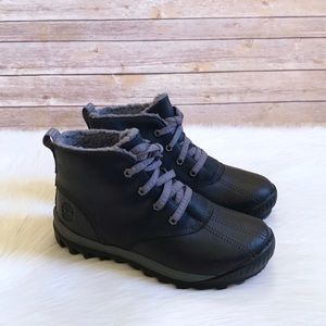Timberland Black MT Hayes Waterproof Chukka Boots